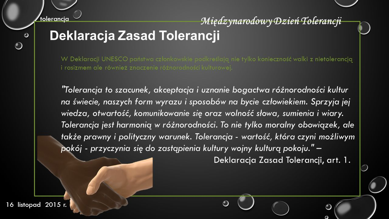 Deklaracja Zasad Tolerancji