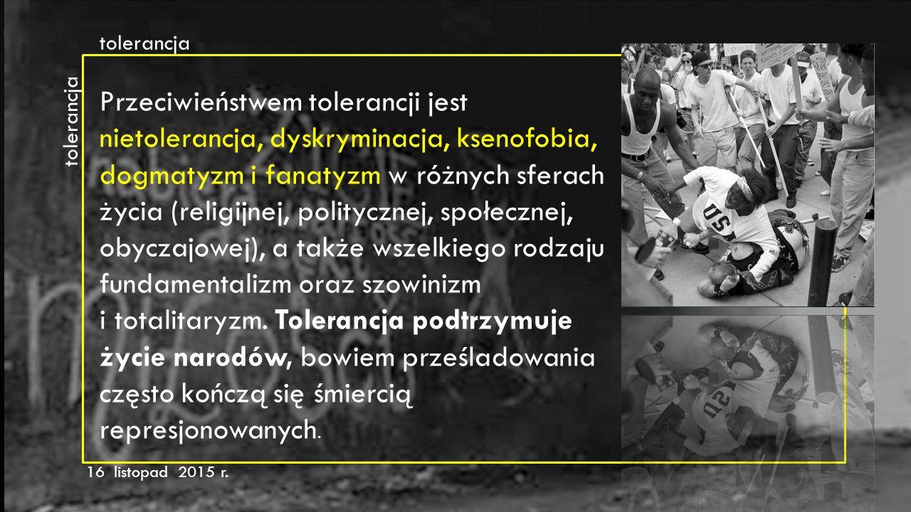 tolerancja tolerancja.
