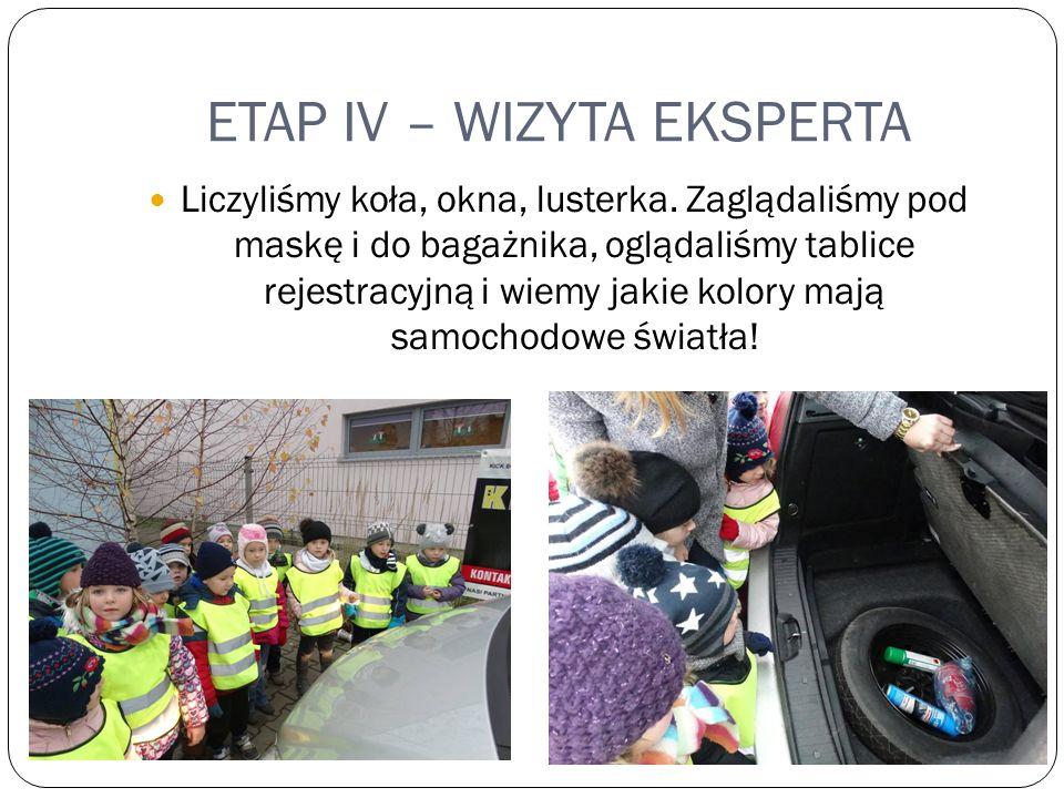 ETAP IV – WIZYTA EKSPERTA