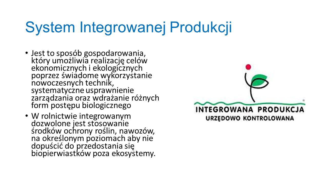 System Integrowanej Produkcji