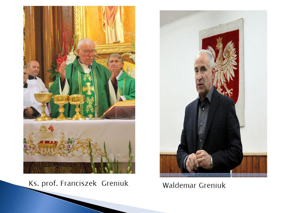 Ks. prof. Franciszek Greniuk