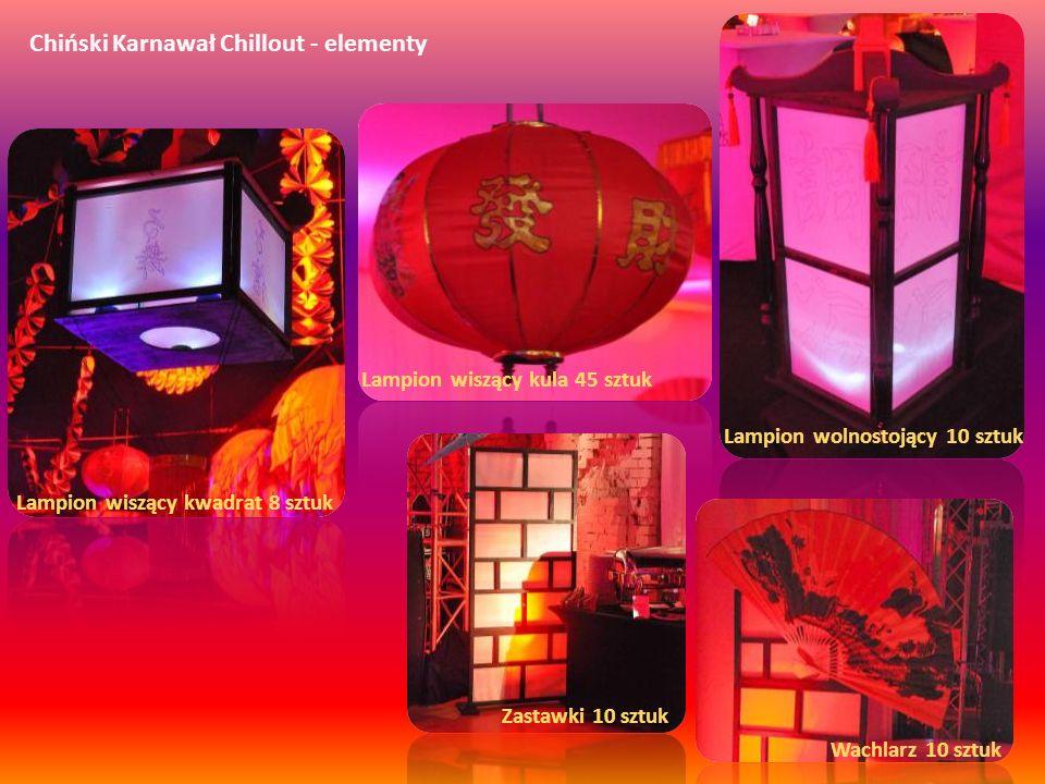 Chiński Karnawał Chillout - elementy