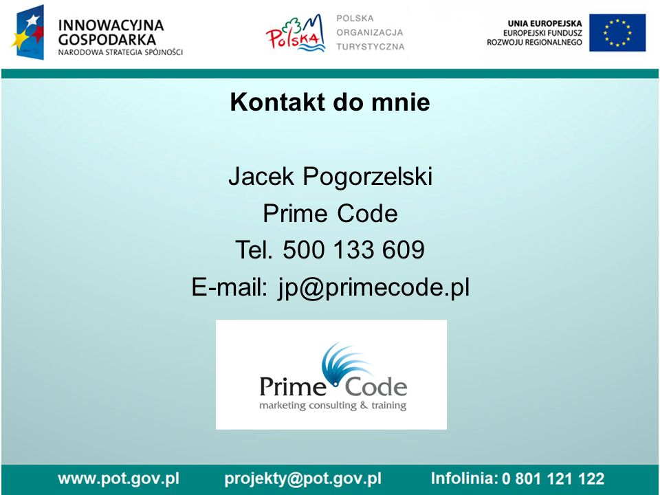 E-mail: jp@primecode.pl