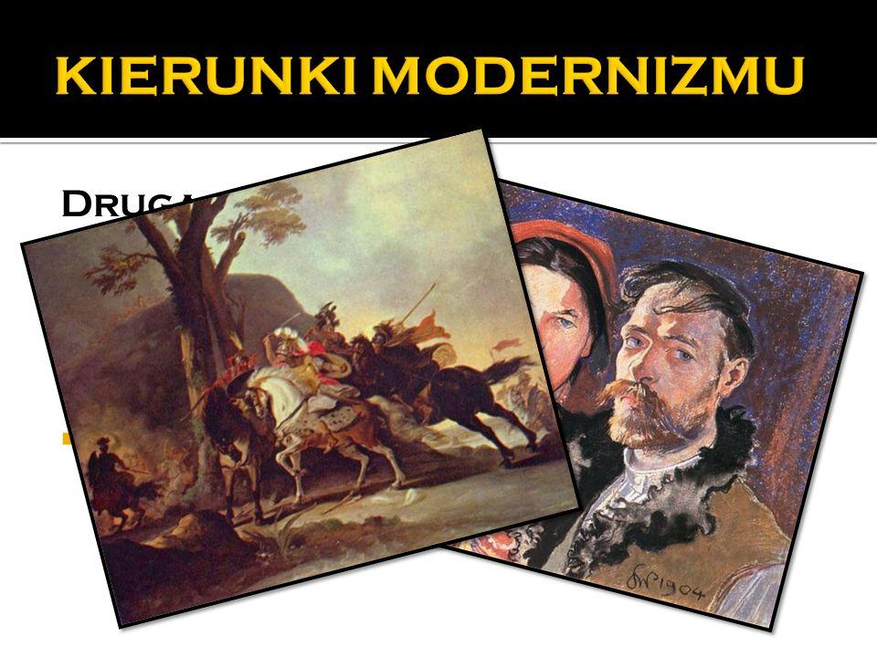 KIERUNKI MODERNIZMU Druga połowa XIX w. impresjonizm neoimpresjonizm