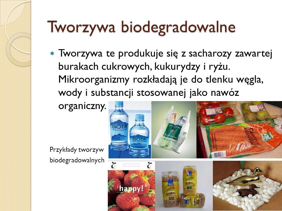 Tworzywa biodegradowalne