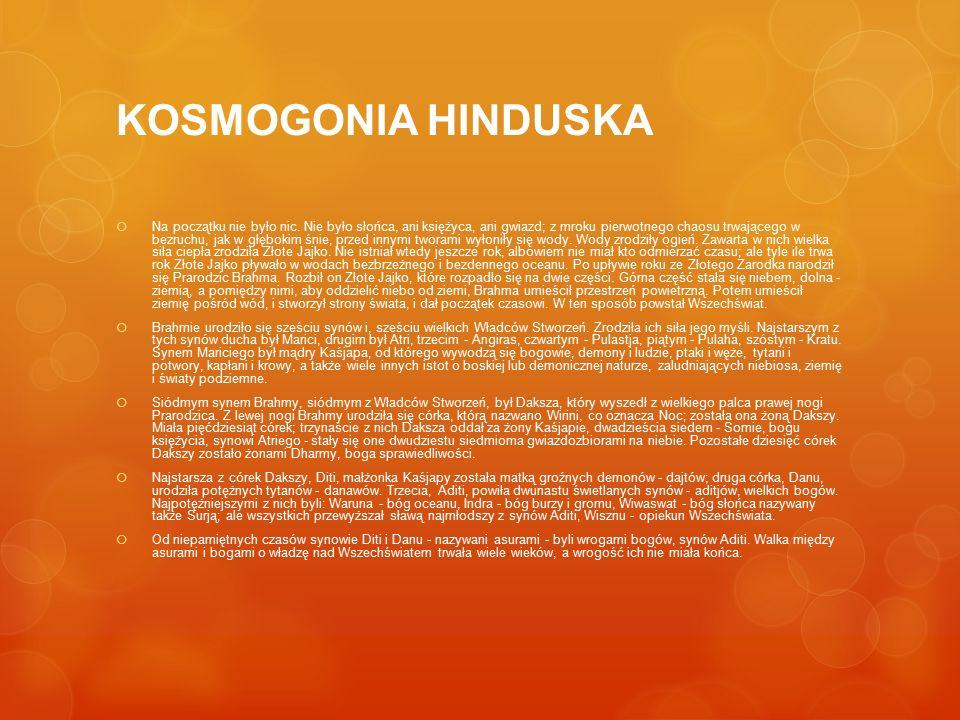 KOSMOGONIA HINDUSKA
