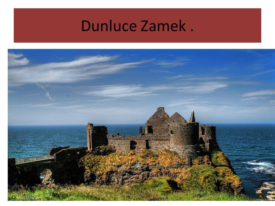 Dunluce Zamek .