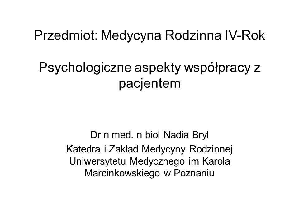 Dr n med. n biol Nadia Bryl