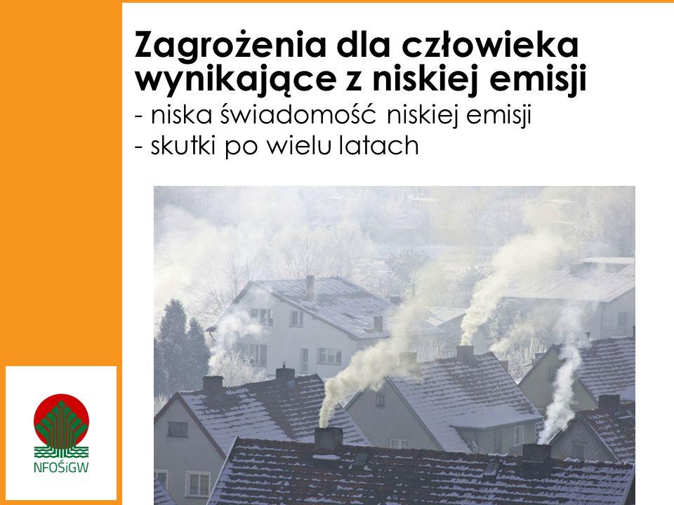 Zagrożenia dla człowieka wynikające z niskiej emisji