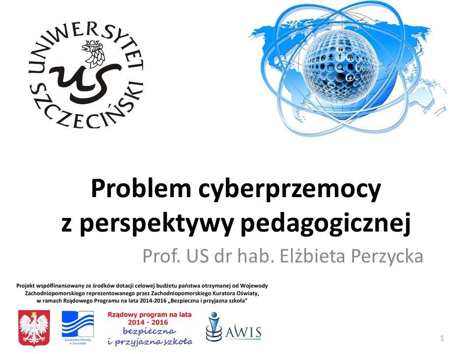 Problem cyberprzemocy z perspektywy pedagogicznej