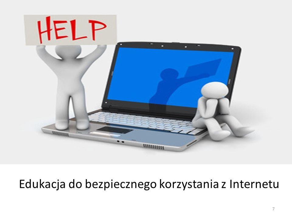 Edukacja do bezpiecznego korzystania z Internetu