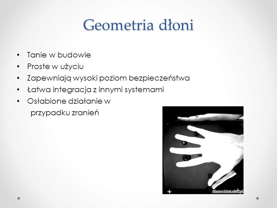 Geometria dłoni Tanie w budowie Proste w użyciu