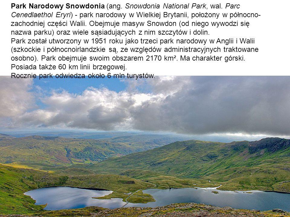 Park Narodowy Snowdonia (ang. Snowdonia National Park, wal