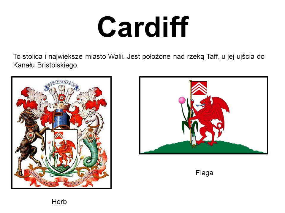 Cardiff To stolica i największe miasto Walii. Jest położone nad rzeką Taff, u jej ujścia do Kanału Bristolskiego.