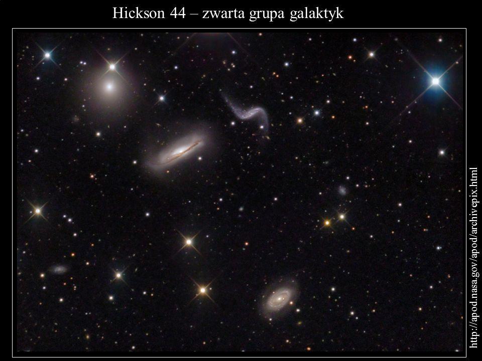 Hickson 44 – zwarta grupa galaktyk