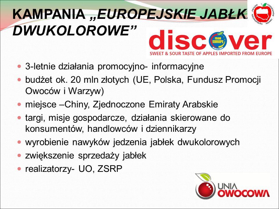 """KAMPANIA """"EUROPEJSKIE JABŁKA DWUKOLOROWE"""