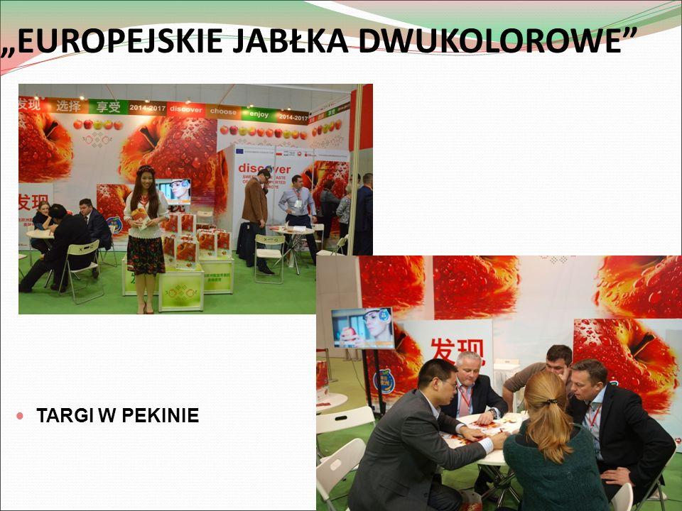 """""""EUROPEJSKIE JABŁKA DWUKOLOROWE"""