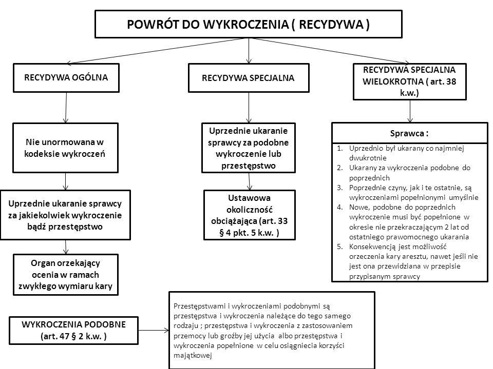 POWRÓT DO WYKROCZENIA ( RECYDYWA )