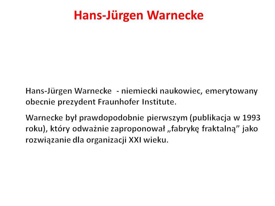 Hans-Jürgen Warnecke Hans-Jürgen Warnecke - niemiecki naukowiec, emerytowany obecnie prezydent Fraunhofer Institute.