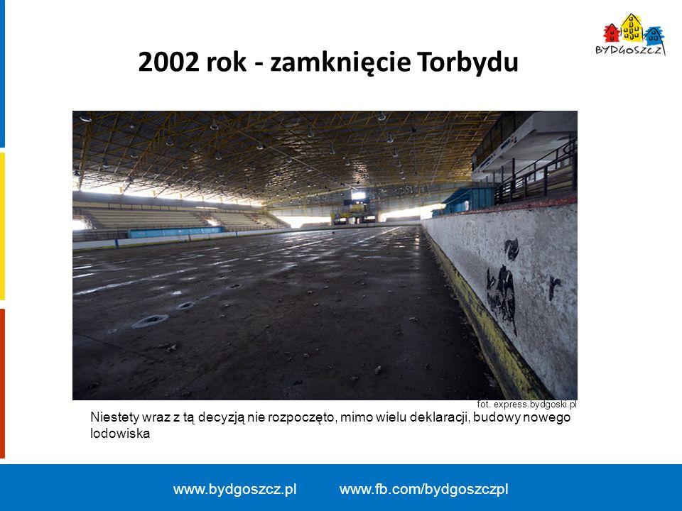 2002 rok - zamknięcie Torbydu