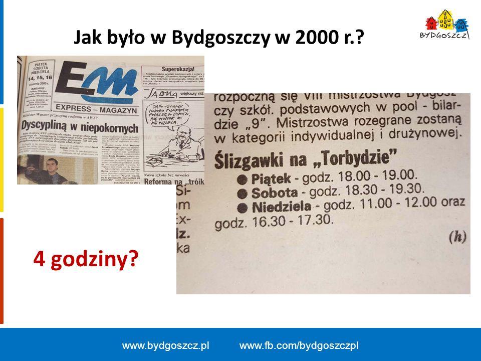 Jak było w Bydgoszczy w 2000 r.