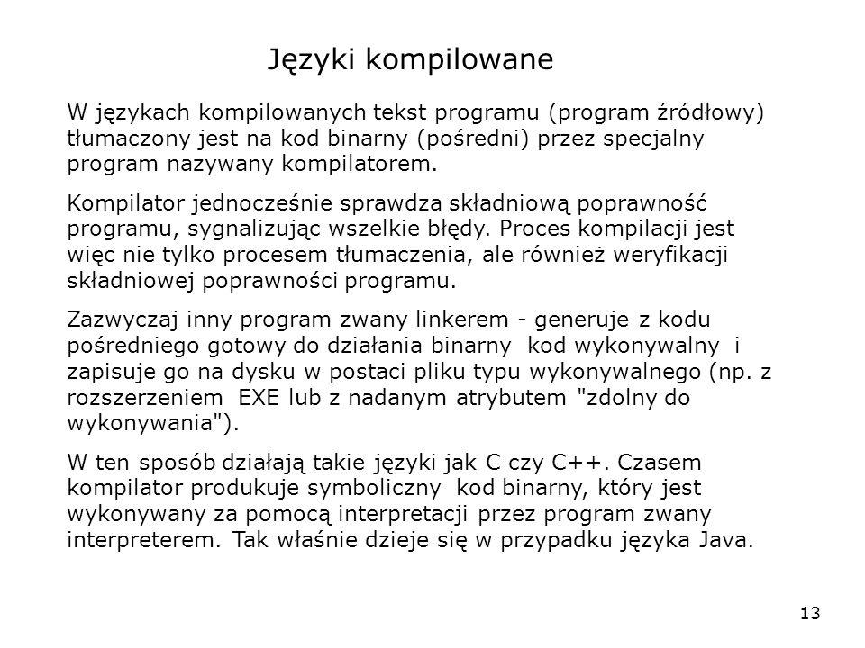 Języki kompilowane