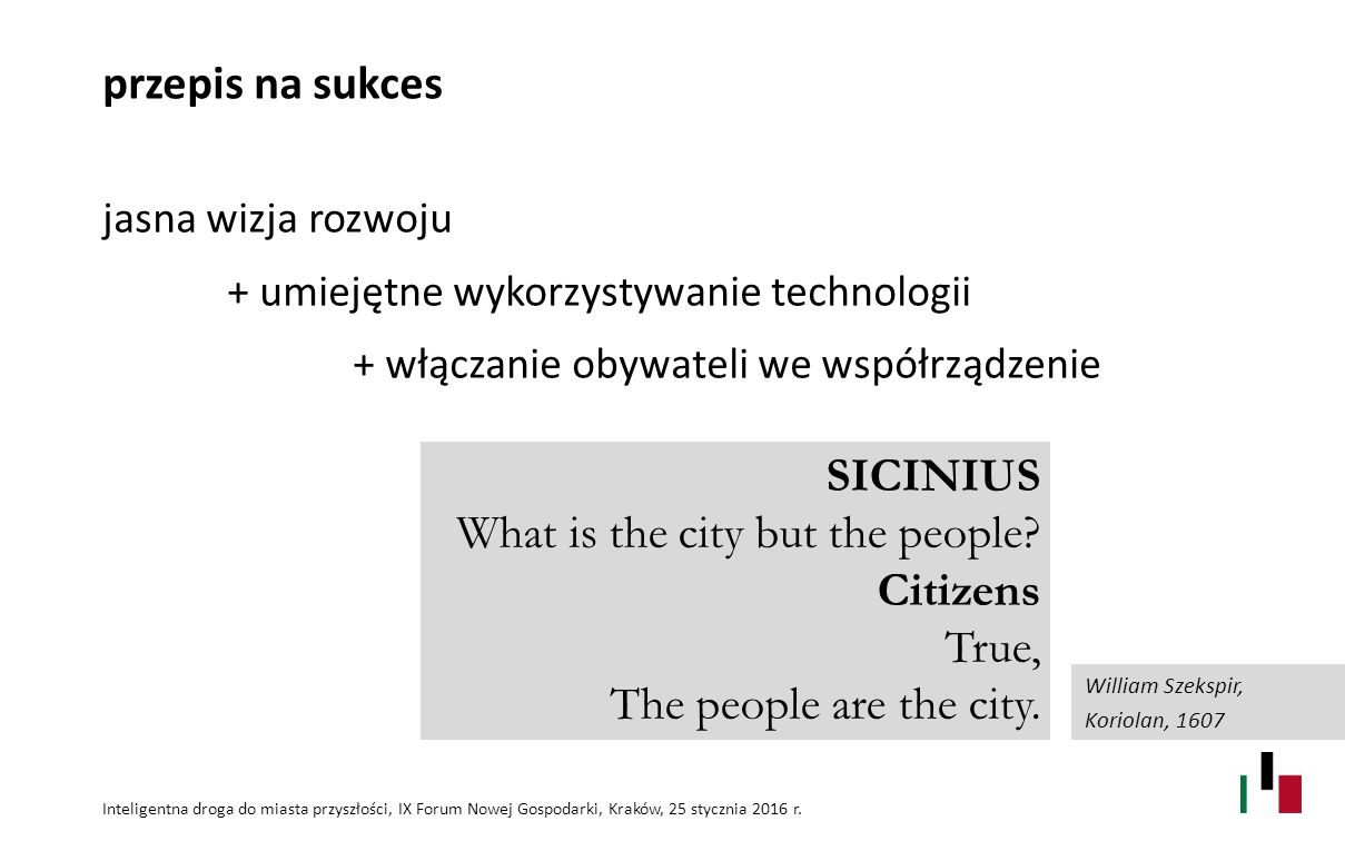 What is the city but the people Citizens