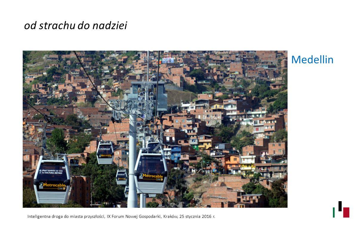od strachu do nadziei Medellin