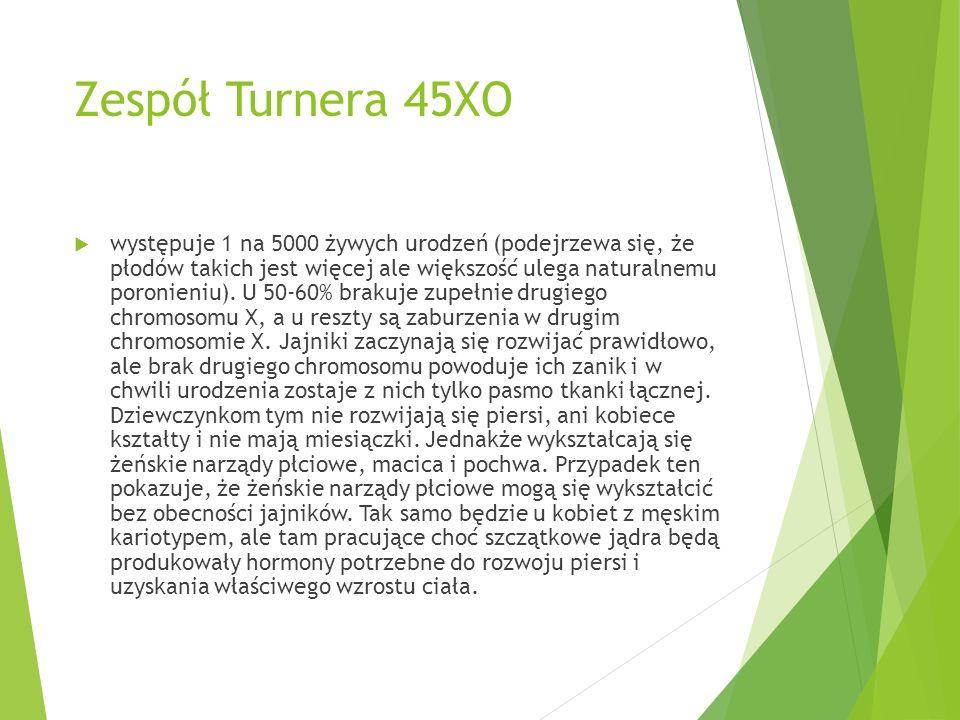 Zespół Turnera 45XO