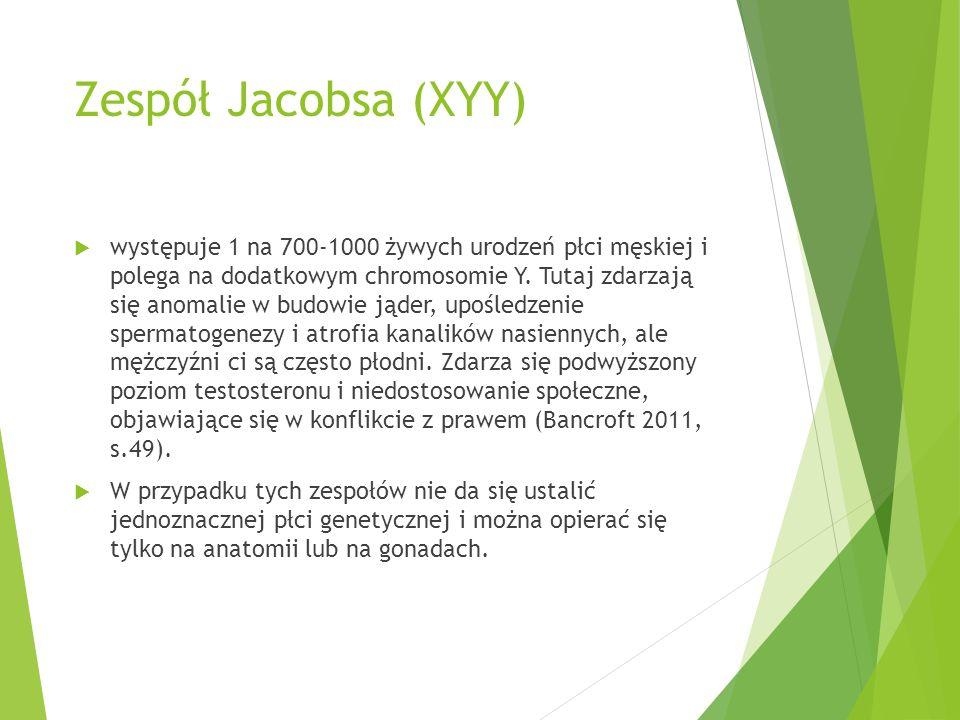 Zespół Jacobsa (XYY)