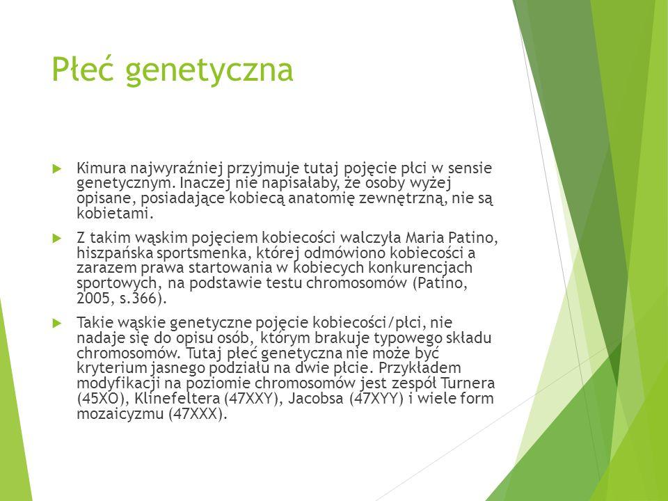 Płeć genetyczna