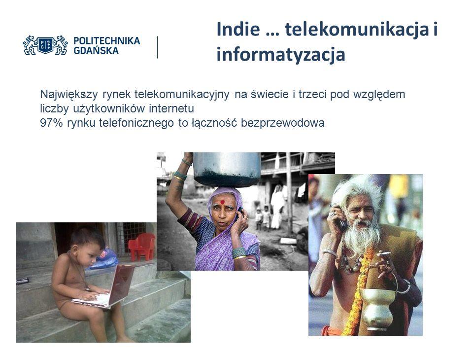 Indie … telekomunikacja i informatyzacja