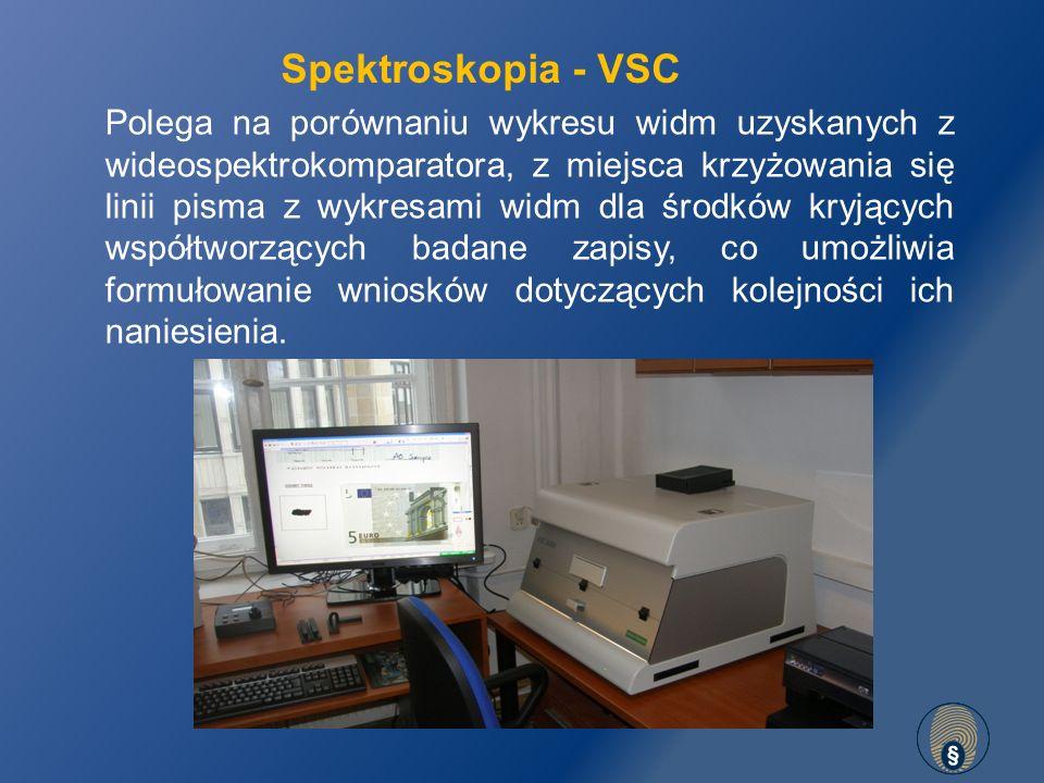 Spektroskopia - VSC