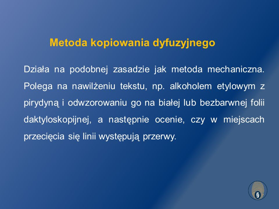 Metoda kopiowania dyfuzyjnego