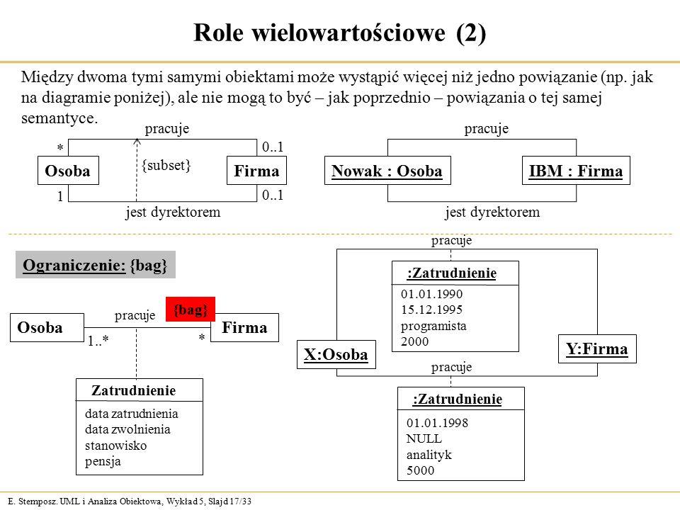 Role wielowartościowe (2)