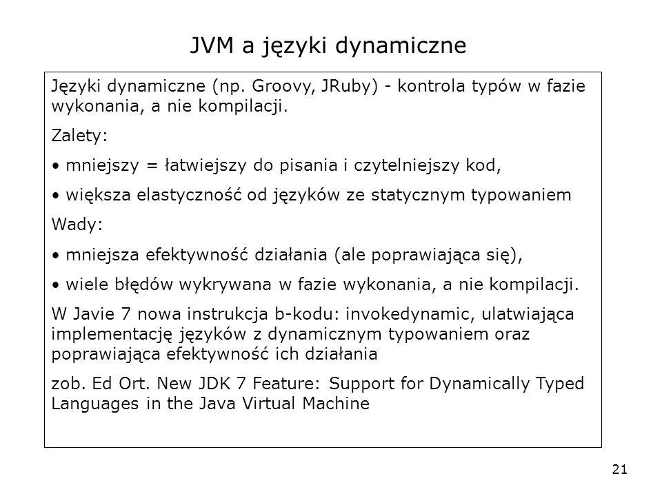 JVM a języki dynamiczne