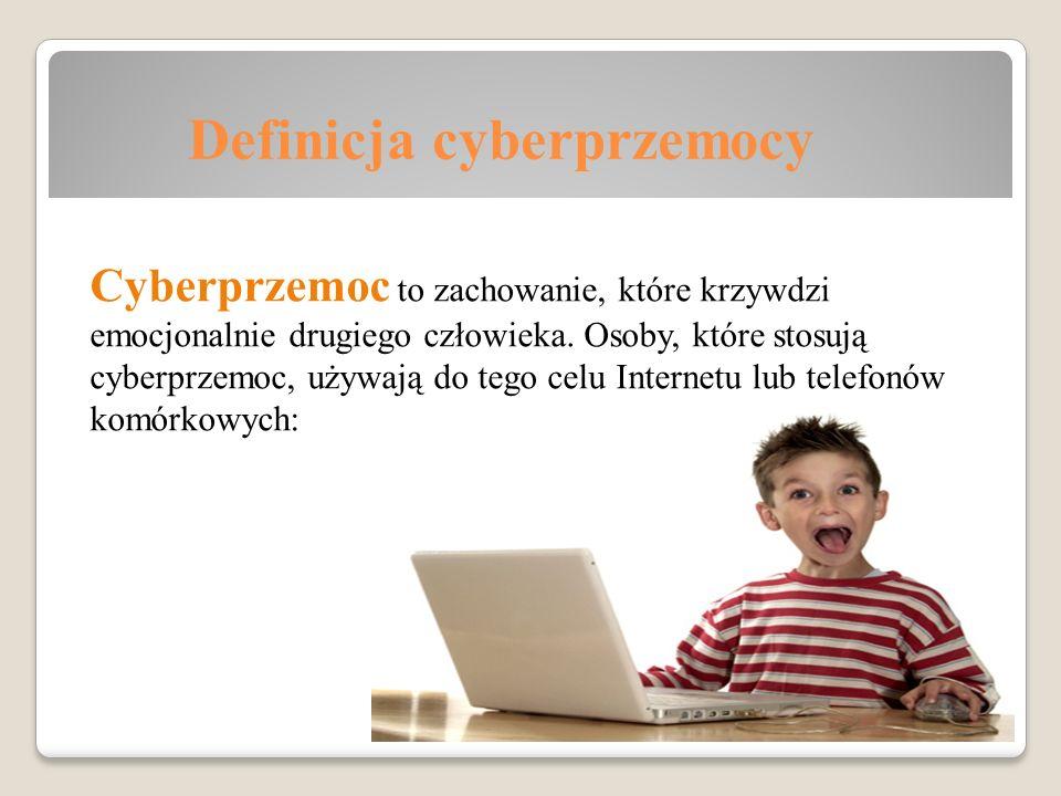 Definicja cyberprzemocy