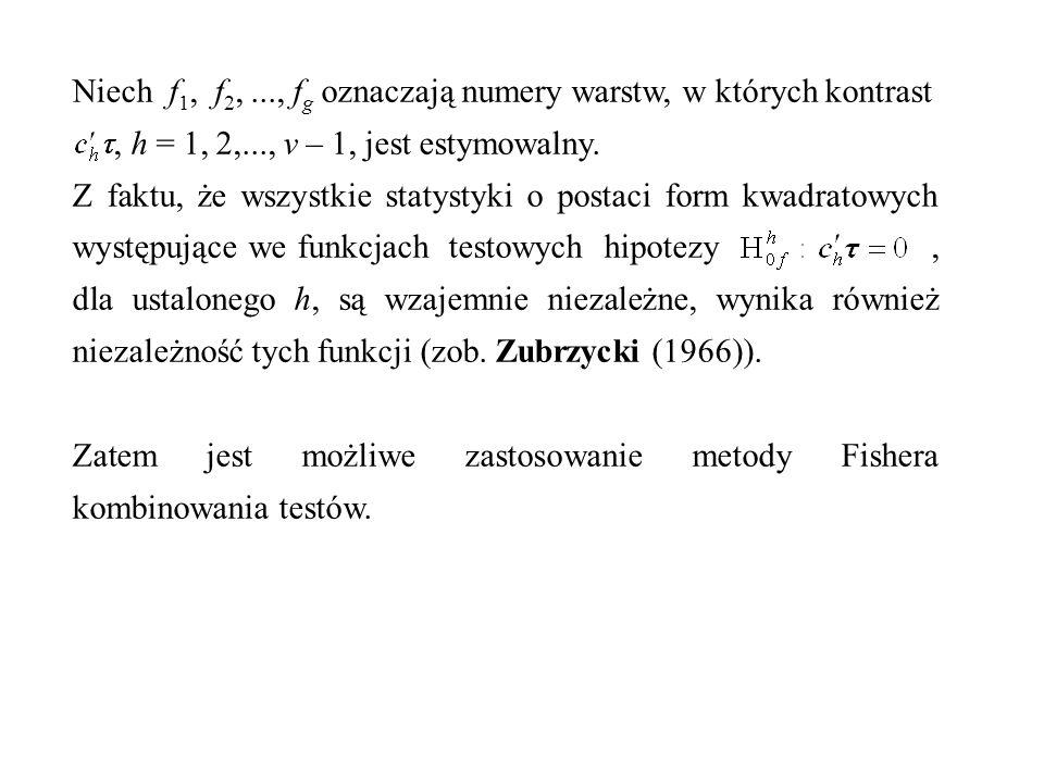 Niech f1, f2, ..., fg oznaczają numery warstw, w których kontrast