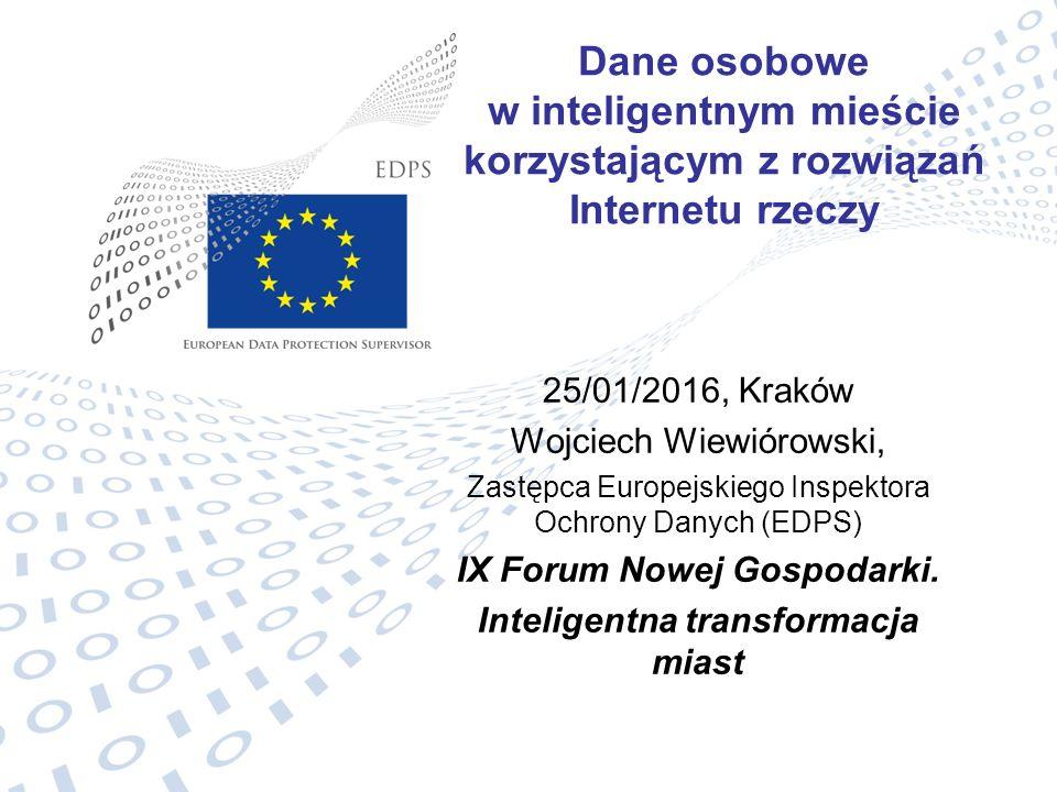 IX Forum Nowej Gospodarki. Inteligentna transformacja miast