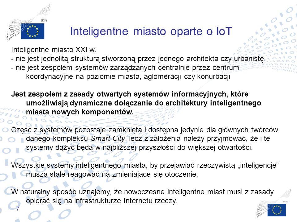 Inteligentne miasto oparte o IoT