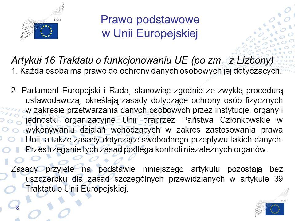 Prawo podstawowe w Unii Europejskiej