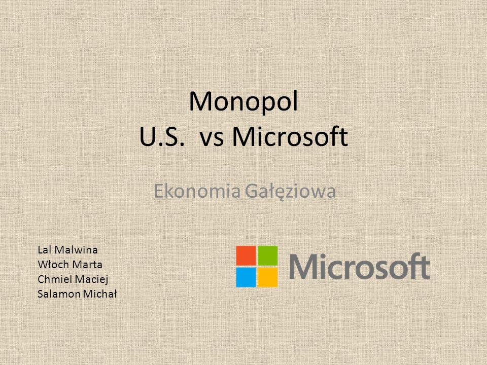 Monopol U.S. vs Microsoft