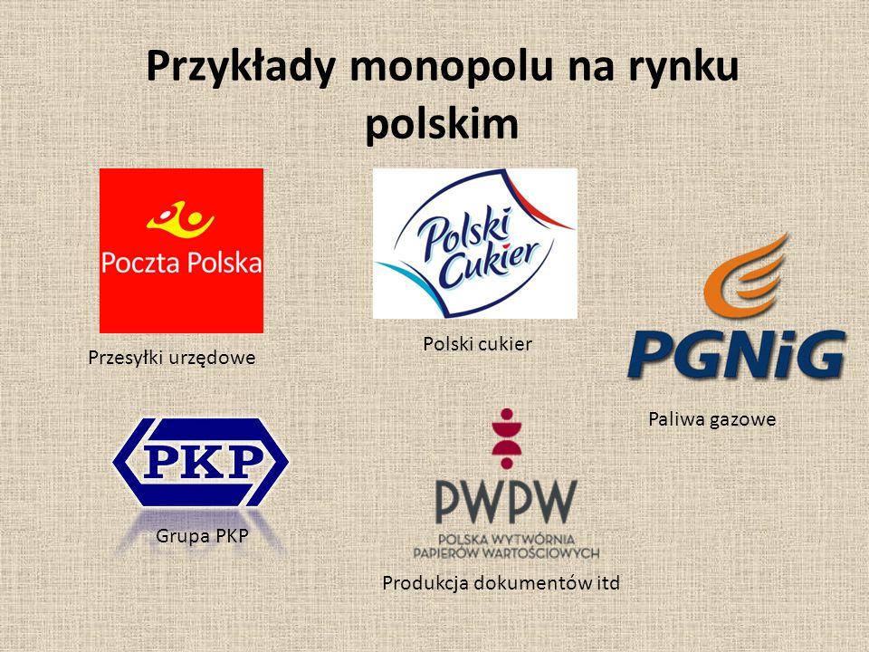 Przykłady monopolu na rynku polskim