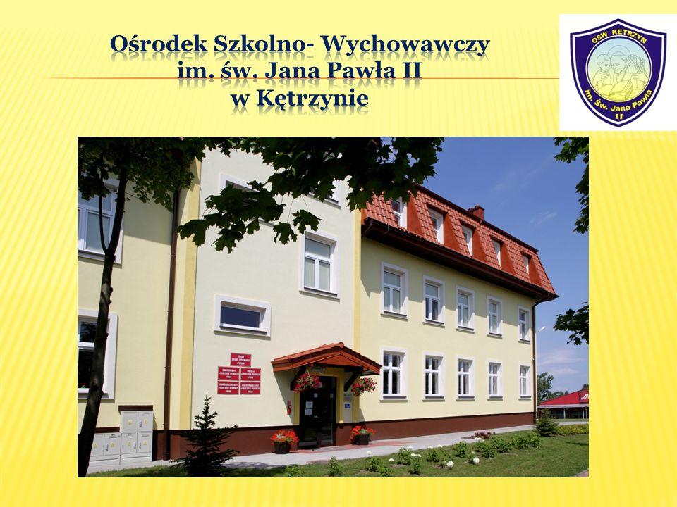 Ośrodek Szkolno- Wychowawczy im. św. Jana Pawła II w Kętrzynie