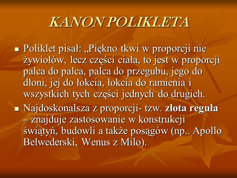KANON POLIKLETA