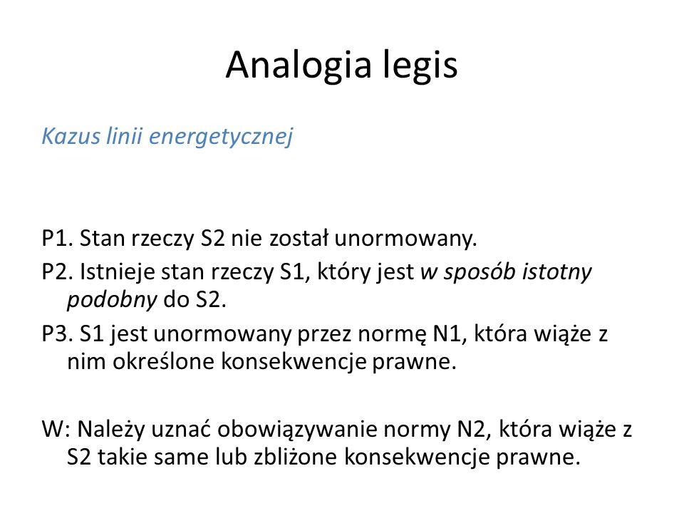 Analogia legis