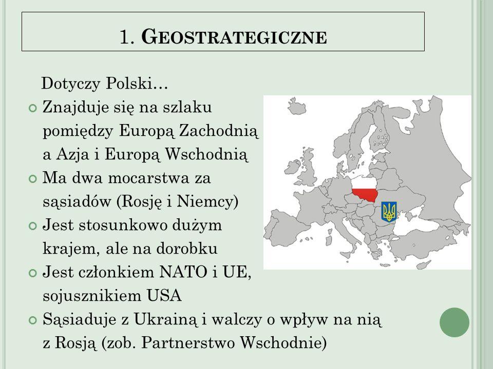 1. Geostrategiczne Dotyczy Polski…