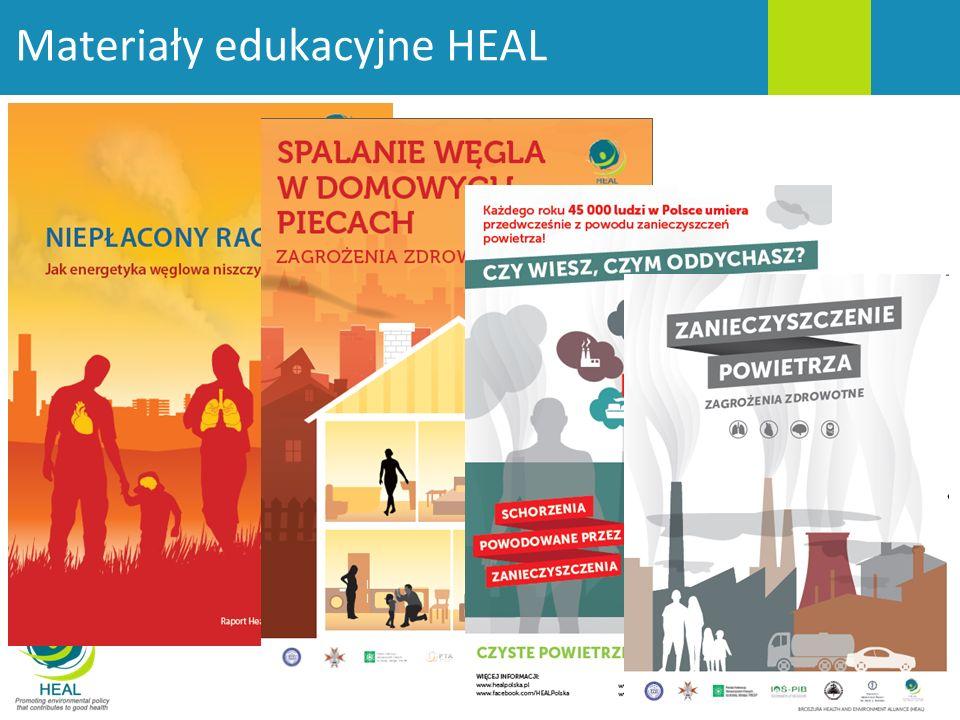 Materiały edukacyjne HEAL