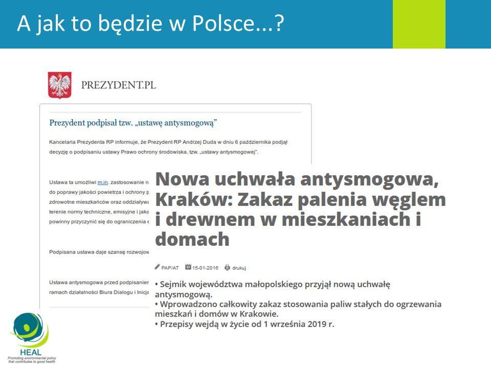 A jak to będzie w Polsce...