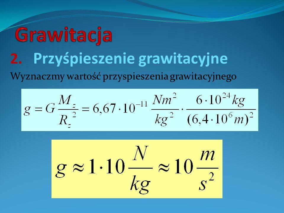 Przyśpieszenie grawitacyjne